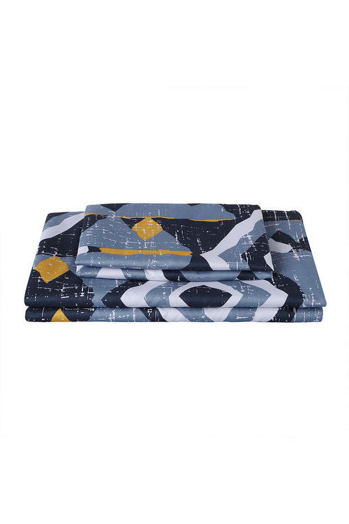 Dreamaker Printed Microfibre Quilt Cover Set Damacus