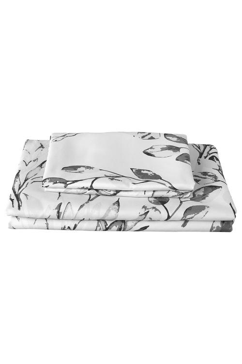 Dreamaker Printed Microfibre Quilt Cover Set Meadow