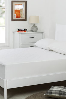 Dreamaker Quilted Cotton Cover Mattress Protector - 292599