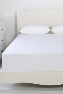 Dreamaker Reversible Cotton Waterproof Mattress Protector - 292601