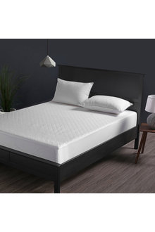 Dreamaker Cotton Quilted Waterproof Mattress Protector - 292648