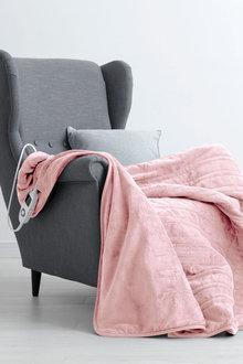 Dreamaker Coral Fleece Electric Heated Throw Blanket - 292775