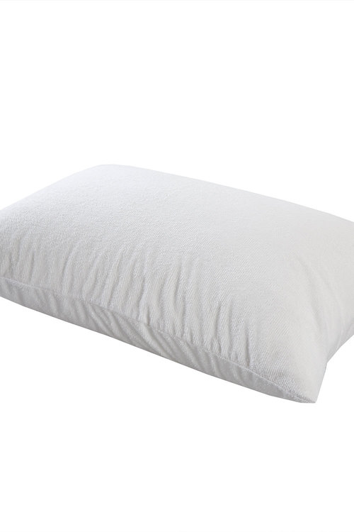 Dreamaker Cotton Terry Towelling Waterproof Pillow Protector -  48X73Cm