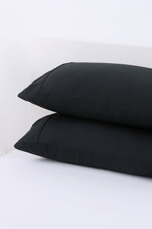 Dreamaker 250Tc Plain Dyed Standard Pillowcases Twin Pack - 292807