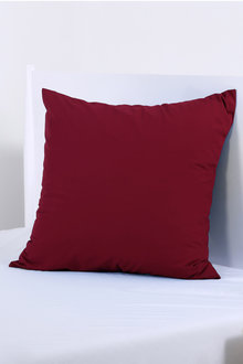 Dreamaker 250Tc Plain Dyed European Pillowcase - 292811