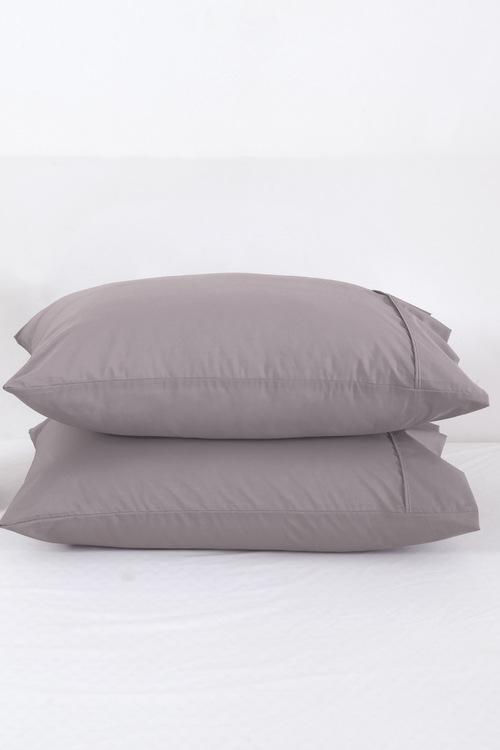 Dreamaker 250Tc Plain Dyed Pillowcases