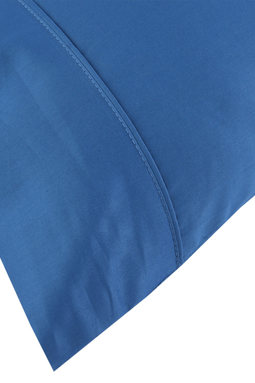 Dreamaker 250Tc Plain Dyed Standard Pillowcases - Twin Pack