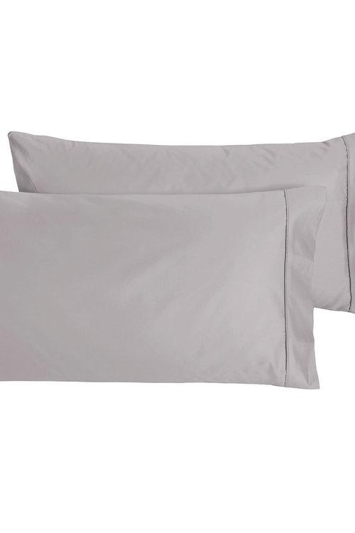 Dreamaker 1000Tc Cotton Sateen King Pillowcase Twin Pack