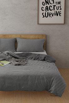 Dreamaker Cotton Jersey Quilt Cover Set Willemstad - 292840