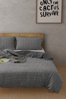 Dreamaker Cotton Jersey Quilt Cover Set Willemstad