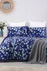 Dreamaker Velvet Digital Printing Pinsonic Quilted Quilt Cover Set Pagan