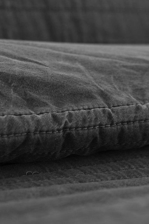 Dreamaker Premium Hazel Quilted Sandwashed Quilt Cover Set