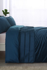 Dreamaker Ripple Velvet Quilt Cover Set