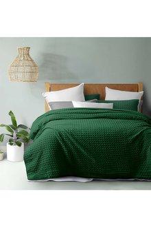 Dreamaker Cotton Waffle Quilt Cover Set - 292882