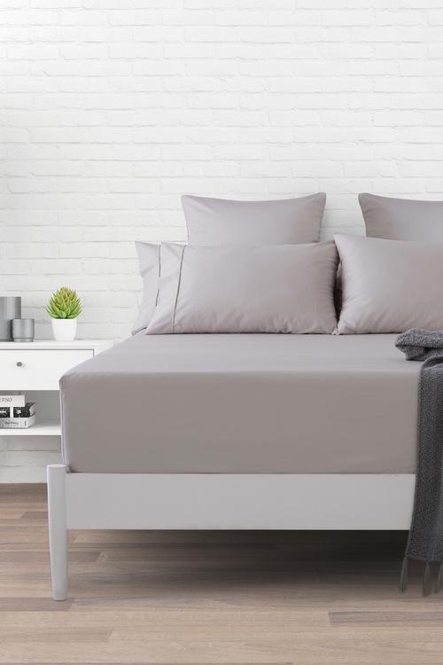 Dreamaker 1000Tc Cotton Sateen Fitted Sheet