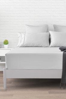 Dreamaker 1000Tc Cotton Sateen Fitted Sheet - 292946
