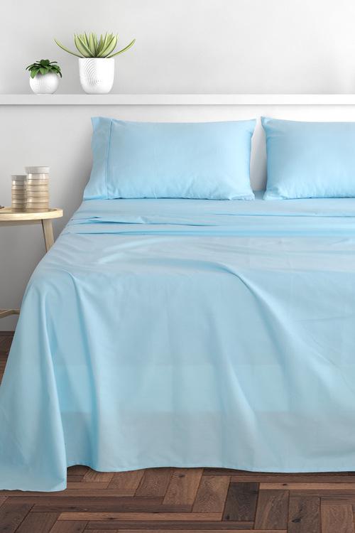 Dreamaker  300Tc Cotton Sateen Sheet Set