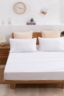 Dreamaker Cotton Jersey Fitted Sheet - 292950