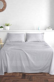 Dreamaker  300Tc Cotton Sateen Sheet Set Queen Bed - 292966