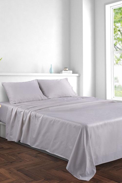 Dreamaker 1000Tc Cotton Sateen Sheet Set Queen Bed