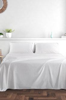 Dreamaker 1000Tc Cotton Sateen Sheet Set Queen Bed - 292967