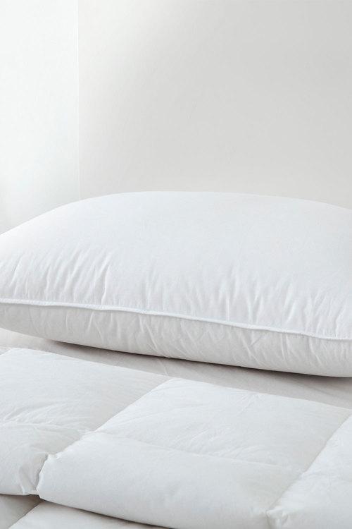 Dreamaker Luxury 50/50 Duck Down & Feather Pillow - 48 X 73 Cm