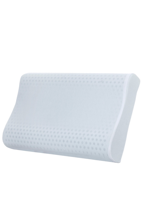Dreamaker Contoured Gel Infused Talalay Latex Pillow - 60X40Cm