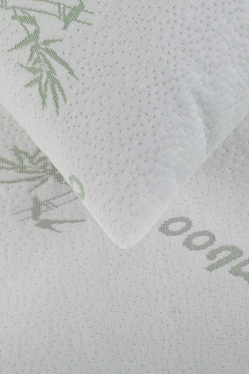 Dreamaker Bamboo Knitted Waterproof Pillow Protector - Standard 48X73Cm