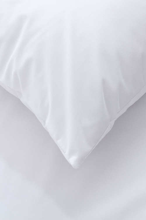 Dreamaker Soft Waterproof Pillow Protector White 2 Pack Standard