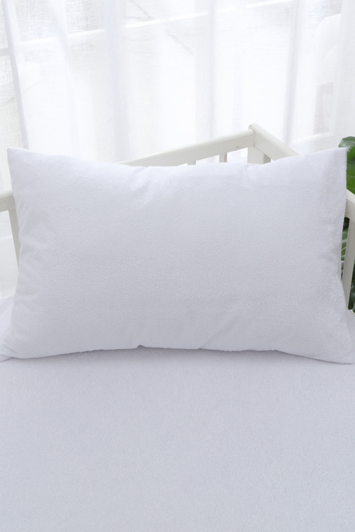 Dreamaker Bamboo Terry Cot Waterproof Pillow Protector 2 Pack