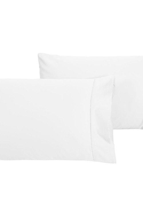 Dreamaker 500Tc Cotton Sateen Standard Pillowcase Twin Pack