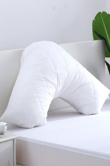 Dreamaker Cotton Cover Quilted Pillow Protector - V Shape - 293085