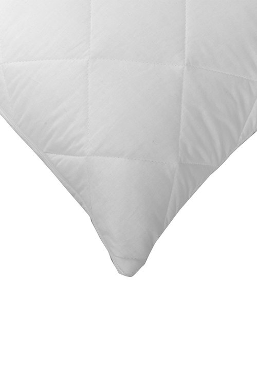 Dreamaker Cotton Cover Quilted Pillow Protector - Euro