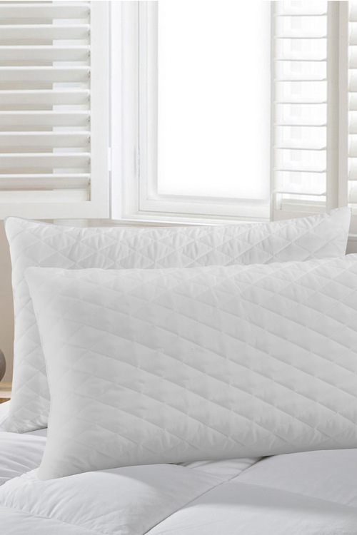Dreamaker Premium Quilted Crumb Latex Pillow - 48X73Cm