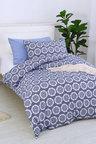 Dreamaker Printed Quilt Cover Set King Mandala - Single Bed