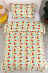Dreamaker Printed Quilt Cover Set Tropica - Single Bed