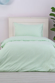 Dreamaker Printed Quilt Cover Set Cacti Queen - Single Bed - 293113