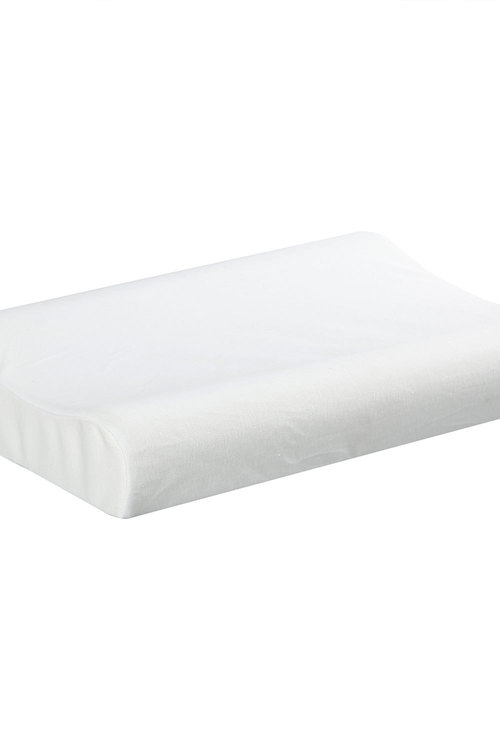 Dreamaker 100% Natural Contoured Pincore Latex Pillow - 60X40Cm