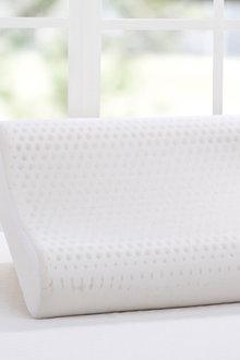 Dreamaker 100% Natural Contoured Pincore Latex Pillow - 60X40Cm - 293136