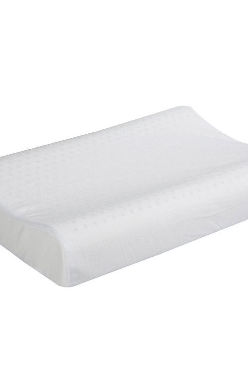 Dreamaker Contoured Pincore Memory Foam Pillow - 60X40Cm