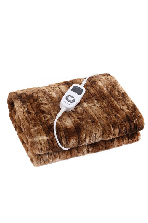 Dreamaker Faux Fur Heated Throw