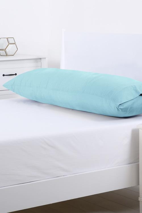 Dreamaker 250Tc Plain Dyed Body Pillowcase