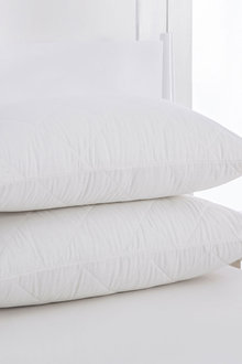 Dreamaker Natural Wool Quilted Pillow Protector Standard Size - 293163