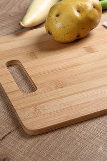 Gourmet Kitchen 3 Piece Natural Bamboo Cutting Board Set - 293209