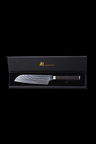 Gourmet Kitchen Chef Series Damascus Steel Santoku Knife