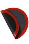 Gourmet Kitchen Round Oven Safe Pizza Steaming and Baking Mat