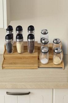 Gourmet Kitchen 3 Tier Expandable Spice Rack - 293236