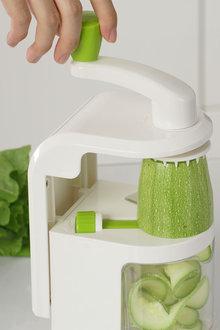 Gourmet Kitchen Vegetable Noodle Spiraliser with Suction Base - 293243