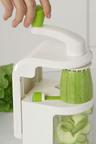 Gourmet Kitchen Vegetable Noodle Spiraliser with Suction Base