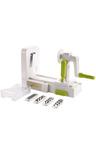 Gourmet Kitchen Adjustable 5 Blade Spiral Vegetable Cutter